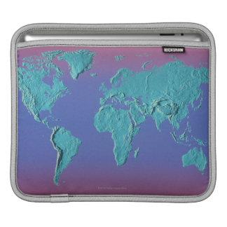 Land Mass Map iPad Sleeve