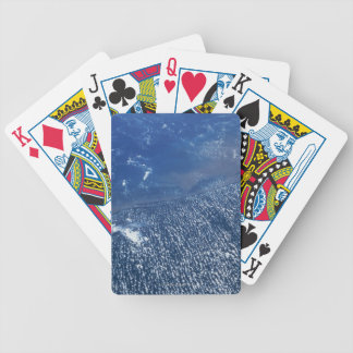 Land Meeting Ocean Bicycle Playing Cards