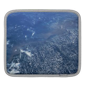 Land Meeting Ocean iPad Sleeve