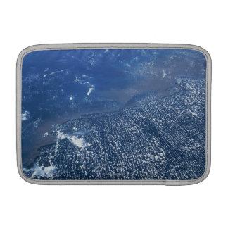 Land Meeting Ocean MacBook Sleeve