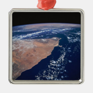 Land Meeting Water on Earth Christmas Ornament