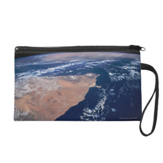 Land Meeting Water on Earth Wristlet