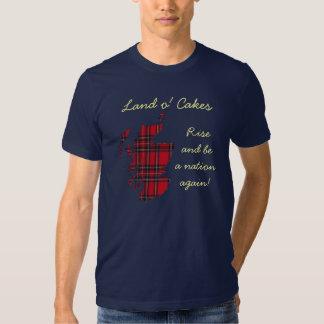 Land o Cakes Scottish Independence Tee