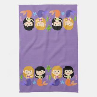 Land-o-Mermaids Tea Towel