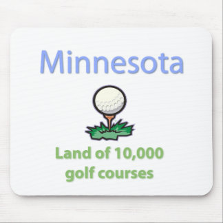 Land of 10,000 Golf Courses Mouse Pad