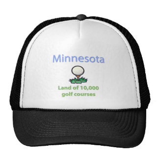 Land of 10,000 Golf Courses Trucker Hat