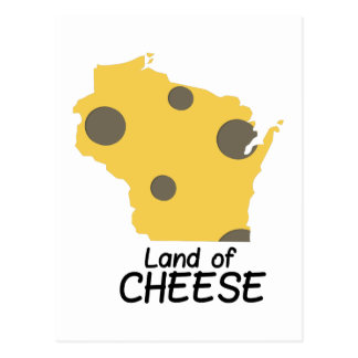 Land of Cheese Postcard