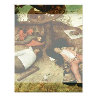 Land of Cockaigne by Pieter Bruegel the Elder 21.5 Cm X 28 Cm Flyer
