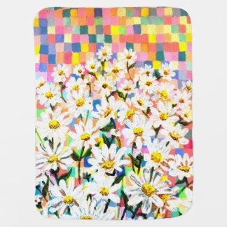 Land of Daisies Receiving Blankets