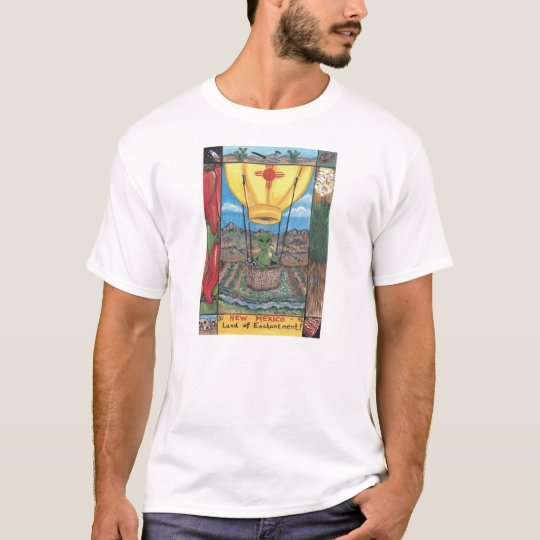 """""""Land of Enchantment"""" New Mexico Design T shirt"""