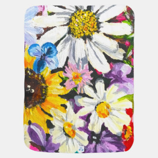 Land of Flowers Baby Blanket
