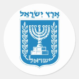 Land of Israel Round Sticker