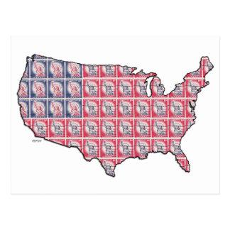 Land of Liberty Postcard