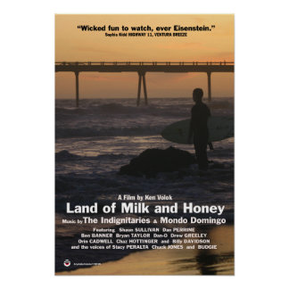 Land of Milk and Honey (Poster) Poster