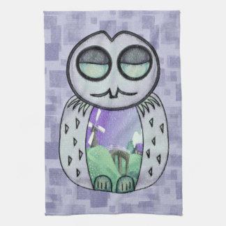Land Of Owl Tea Towel