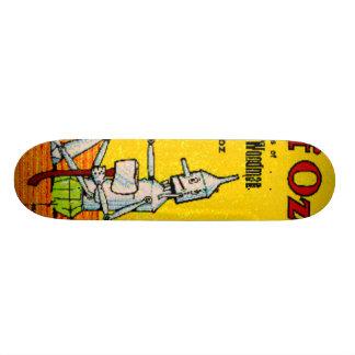 land of oz skate board deck