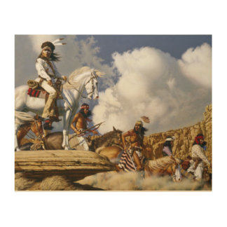 Land Of The Apache Wood Prints