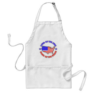 Land of the Free Standard Apron