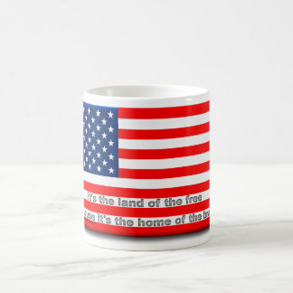 Land of the Free, Home of the Brave Mug
