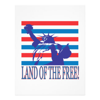 Land Of The Free Personalized Flyer