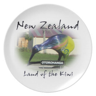 Land of the Kiwi plate