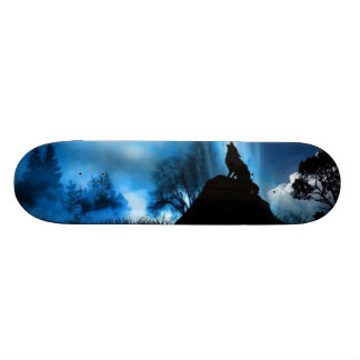 """""""Land of wolves"""" Skateboard"""