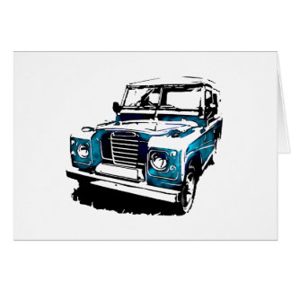 Land Rover Cards