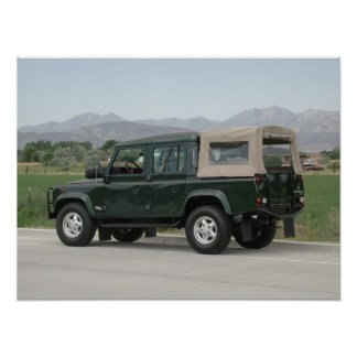 Land Rover Defender 110 Poster