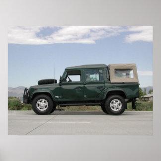 Land Rover Defender 110 Poster