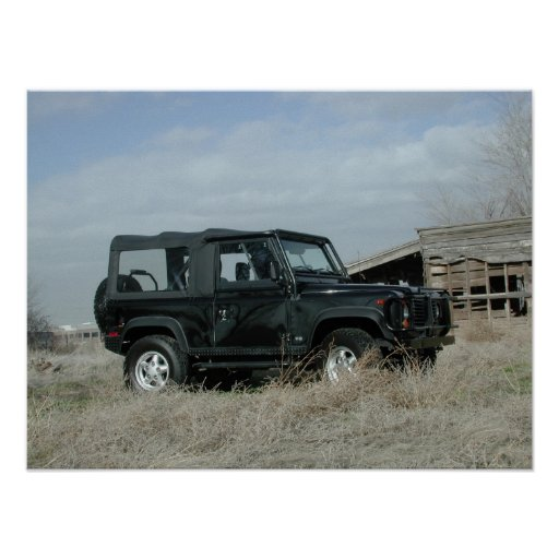 Land Rover Defender 90 Posters