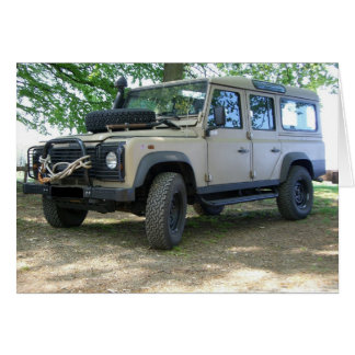 Land Rover Defender Greeting Card