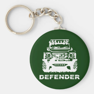 Land Rover Defender Classic Vintage Hiking Duck Key Ring