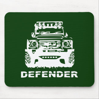 Land Rover Defender Classic Vintage Hiking Duck Mouse Mat