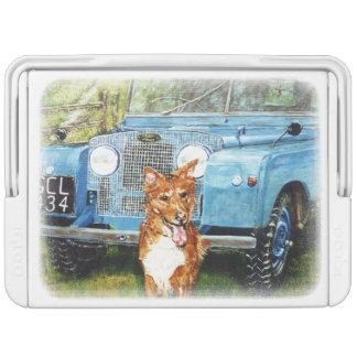 Land Rover Enthusiasts'  Can Cooler Farmer's Fri.. Igloo Cooler