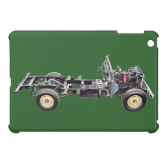 Land Rover Landy Cutaway Classic Hiking Duck Case For The iPad Mini