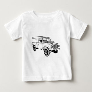 Land Rover Landy Hikingduck Baby T-Shirt