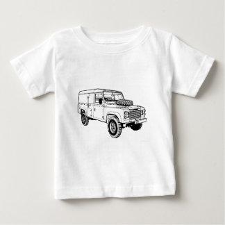 Land Rover Landy Hikingduck Baby T-Shirt