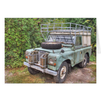 Land Rover Series III 109 Greeting Card