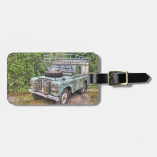 Land Rover Series III 109 Luggage Tag