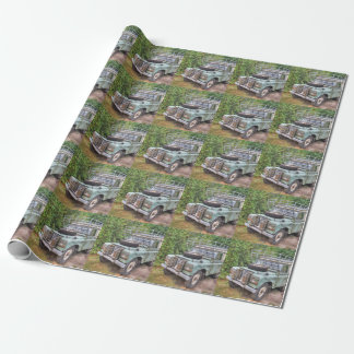 Land Rover Series III 109 Wrapping Paper