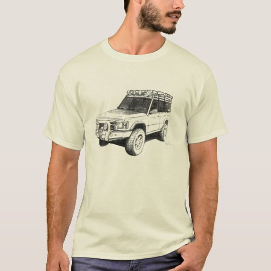 Land Rover Truck Art T-Shirt