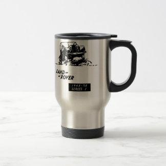 Land Rover Vintage series 1 Stainless Steel Travel Mug