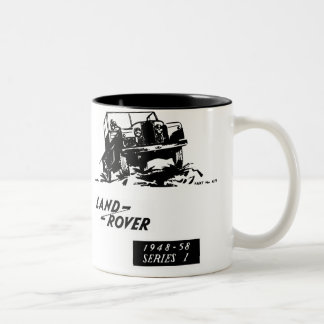 Land Rover Vintage series 1 Two-Tone Coffee Mug