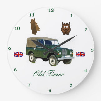 Land Rover Wall Clock