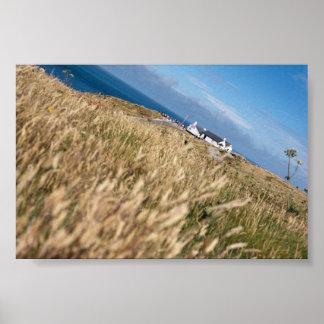 Land s End England Cornwall United Kingdom Coast Poster