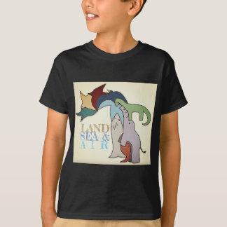 Land Sea & Air - Kid T-Shirt - Full Color