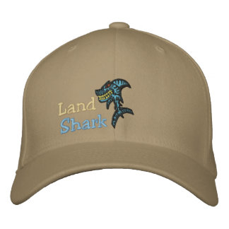 Land Shark Embroidered Hat