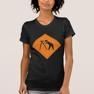 Land Surveyor at Work Women's T-Shirt