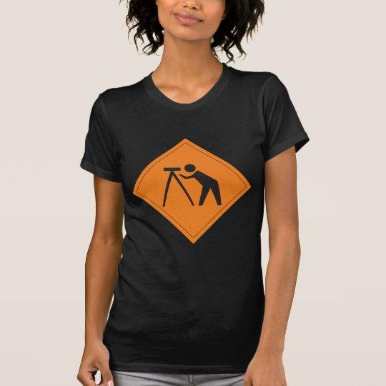 Land Surveyor at Work Women's T-Shirt