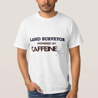 Land Surveyor Powered by caffeine T-Shirt